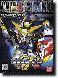 Bandai Hobby BB#41 Wing Gundam Zero, Bandai SD Action Figure - 1