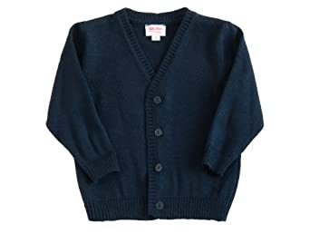 Kthe Kruse Baby-boys Opaque Crew Neck Long - regular Jumper Blue - Blau (marine) 4 Years