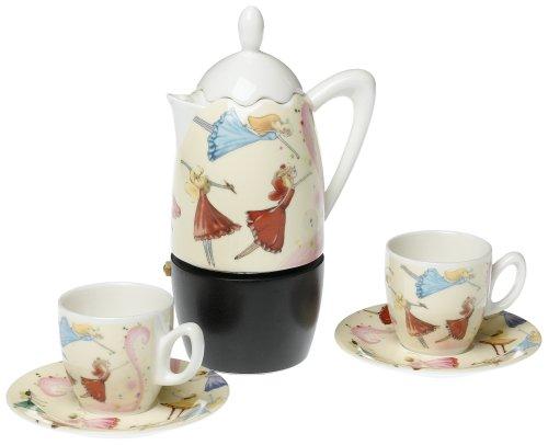 Yedi Houseware Classic Coffee and Tea Dancing Fairies Stovetop ...
