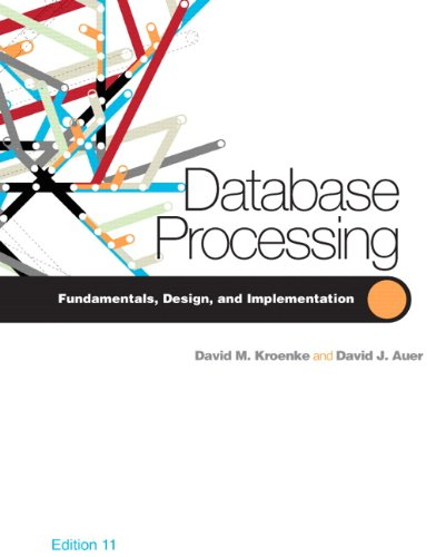Database Processing (11th Edition)
