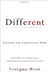 "Cover of ""Different: Escaping the Competi..."