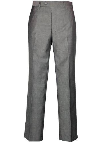 Brook Taverner Mix & Match Grey Suit Trousers - 34 Short