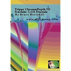Trippy ChromaDepth 3D Fractals: 3,525 Fractals