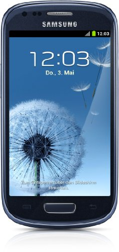 Samsung Galaxy S III Mini I8190 8GB Blue Unlocked GSM Phone with Android 4.1 OS,