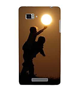 Vizagbeats boy touching sun Back Case Cover for Lenovo Vibe Z K910