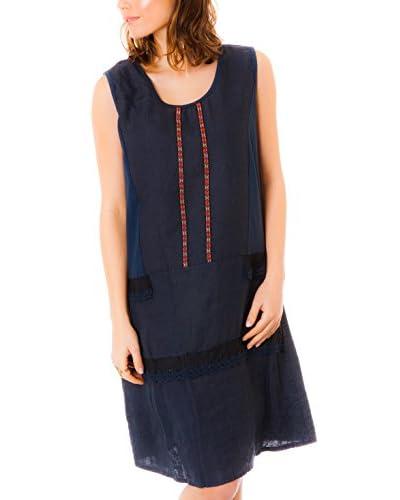 100% Linen Vestido