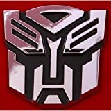 41zZHIISviL. SL160  5 Autobot Transformers 3D Chrome Emblem (Not a Decal, High Quality Chrome Emblem)