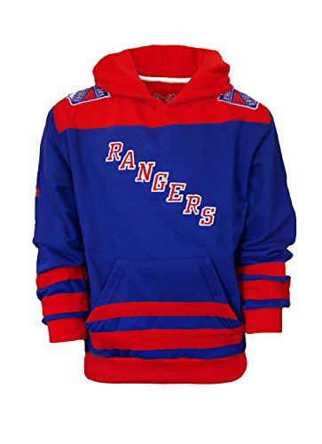New York Ranger Youth Pullover Hoodie, LG (Kids New York Rangers Sweatshirts compare prices)