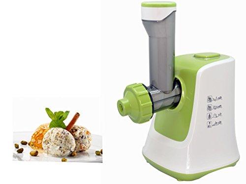SunSir Frozen Healthy Fruits Dessert Maker - 100% Fruit Soft-Serve Maker (GREEN)