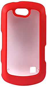 Reiko PP-ZTEX501RD Sleek and Durable Protective TPU Case for ZTE Groove X501 - 1 Pack - Retail Packaging - Red