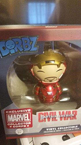 Funko Marvel Dorbz Iron Man Exclusive Vinyl Bobble Head #128 [Unmasked]
