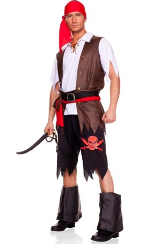 Maclove Men's Pirate Costume
