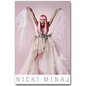 Nicki Minaj Poster - K Promo Flyer - Pink Friday