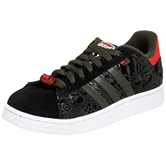 adidas Originals Men's Campus Evolution Sneaker,Black/Terrain/White,10 M