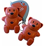 Mommy I'm Here CL-103BR2pak Teddy Bear Remote Child Locator, 2-Pack, Brown
