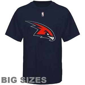 Big Man Atlanta Hawks Big & Tall Logo T-Shirt by Majestic