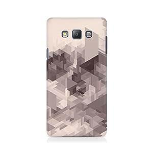 Mobicture Randomised Triangles Premium Printed Case For Samsung Grand Prime 5308