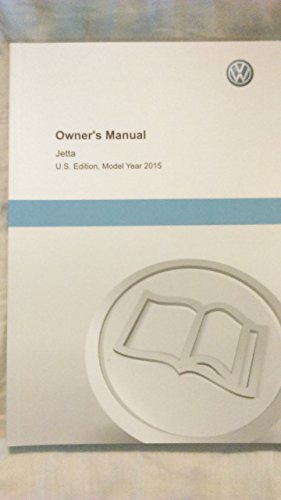 2015 VW Volkswagen Jetta Owners Manual Guide Book (Vw Jetta Owners Manual compare prices)