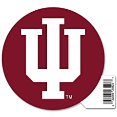 Buy Indiana Hoosiers Official NCAA 4.5x6 Car Magnet by Wincraft by WinCraft