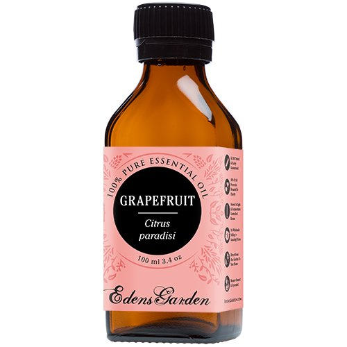 Grapefruit 100% Pure Therapeutic Grade Essential Oil by Edens Garden- 100 ml