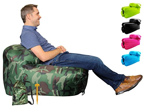 air chair beach inflatable foldable spinflate fishing garden picnic bean bag chairs travel gamer time bags pool camping cool for teens bedrooms lightweight     junglesaver   bean bag chairs fishing chair deck chair air chair  rh   junglesaver