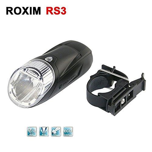 Roxim RX5A Premium LED Frontlicht / Fahrrad-Lampe / Scheinwerfer – mit 5x Leuchtmodi & Automatischer Lichtsteuerung – StVZO zugelassen