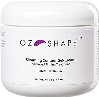 OZ Shape - Cellulite Gel-Cream with Caffeine and Retinol + Indian Ginseng - BEST Organic Skin Firming Treatment ★ Premium Quality ★