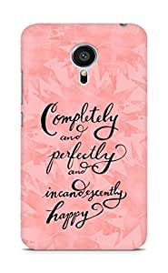 AMEZ completely and perfectly and incandescently happy Back Cover For Meizu MX5