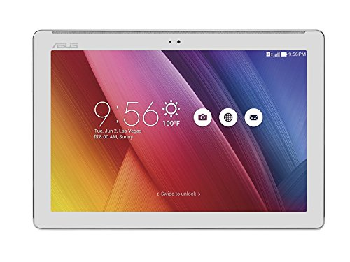 "ASUS ZenPad 10 Z300CX-1L001A Tablet 10"" HD, Processore Intel Quad Core, 16 GB, RAM 1 GB, Wi-Fi, Android 5.0, Metal"