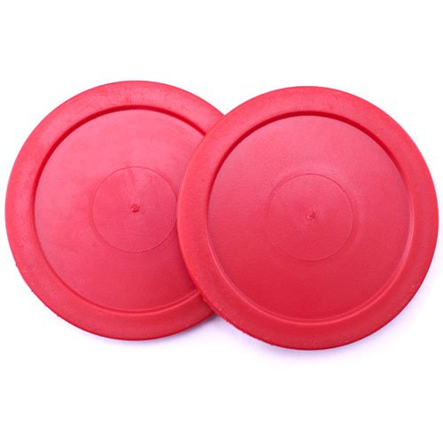 Brybelly Air Hockey Pucks (Set of 2), 2.5-Inch