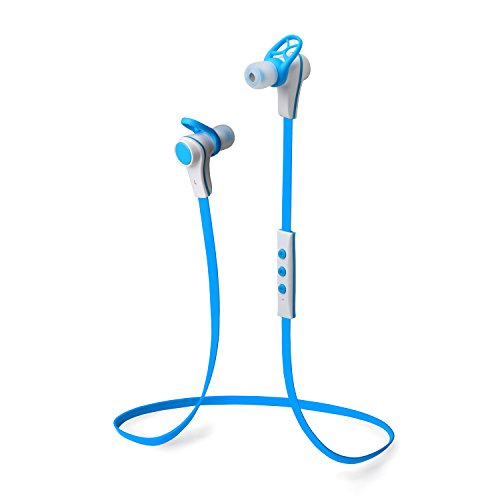 """Sneer """"Isport"""" Series Premium 2014 Newest Mini Wireless Bluetooth Headset Stereo Sports/Running & Gym/Exercise Bluetooth Earbuds Headphones Headsets W/Microphone For Iphone 5S 5C 4S 4, Ipad 2 3 4 New Ipad,Ipad Air Ipod, Android, Samsung Galaxy S5,Galaxy 4"""