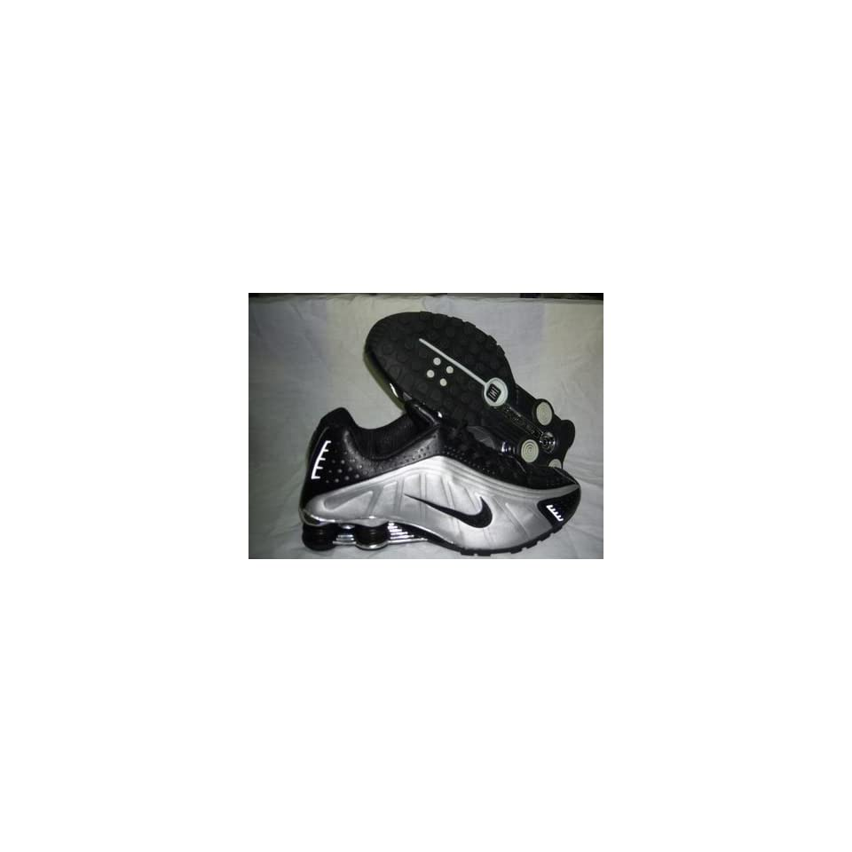 53231ee5c48dc Nike Shox R4 Running Shoe Black Silver Mens Size 12 on PopScreen