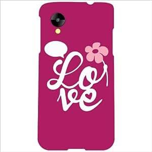 Back Cover For LG Nexus 5 LG-D821 (Printland)