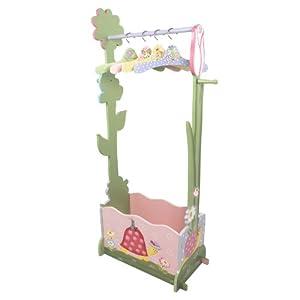 Fantasy Fields - Magic Garden Valet Rack w/Set of 4 Hangers