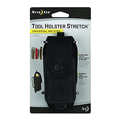 Nite Ize Tool Holster Stretch - Securely and Conveniently Stores Multi-Tools and Knives of Almost Every Size from Nite Ize