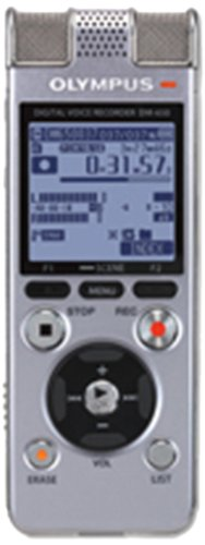 Olympus Dm-650 Digital Voice Recorder - Silver