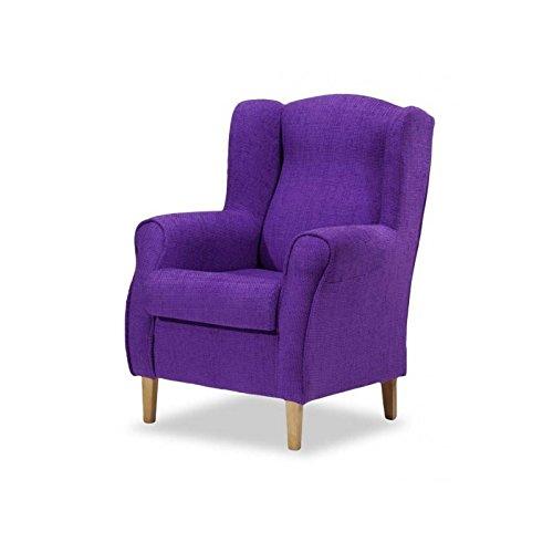 Sobuy sill n de relax mecedora butacas salon silla de madera fst14 fl beige es - Butacas baratas conforama ...