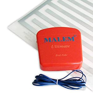 Malem Bed-Side Bedwetting Alarm with Pad [Health and Beauty]