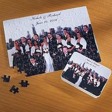 Cheap Personal Creations Wedding Gifts – Personalized Wedding Photo Jigsaw Puzzle (B000Y1JJG6)