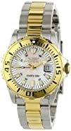 """Invicta Women's 6895 """"Pro-Diver"""" Stainless Steel, 18k Yellow Gold Plating, and…"""