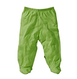 Baby Soy O Soy Footie Pants, 3-6M (Grass)