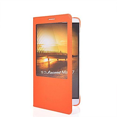 ascend-mate-7-hullecoolke-orange-flip-cover-fur-huawei-ascend-mate-7-dunn-schutzhulle-hulle-schutzsc