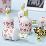 Shabby Chic Vintage Rose Design Party Poppers Pack 20 great for Summer parties