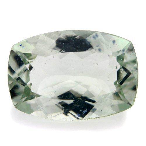 Natural Green Amethyst Loose Gemstone Cushion Cut 4cts 13*9mm VVS Grade