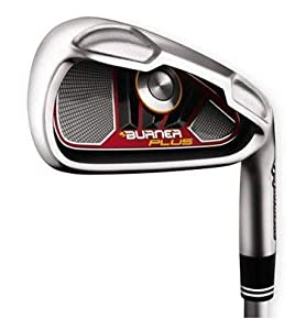 TaylorMade Burner Plus Irons 4-AW (Right Hand, Steel, Regular)