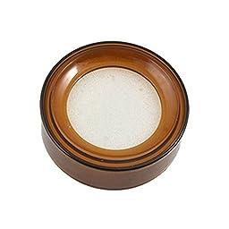 Water & Wood Coffee Plastic Round Sponge Money Casher Finger Wet Device