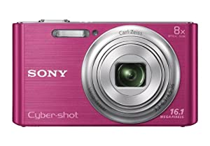 Sony DSC-W730/P 16.1 MP Digital Camera with 2.7-Inch LCD (Pink)