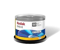 Kodak 50250 Dvd Minus R 4.7gb 50 Pack Spindle 16x 02505