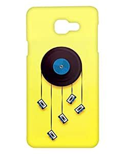 Crackndeal Back Cover for Samsung Galaxy A7 2016