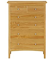 Hastings Natural 4+2-Drawer Chest